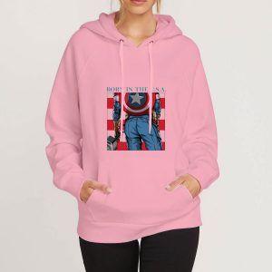 Captain-America-Pink-Hoodie