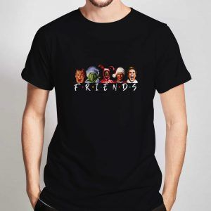 Christmas-Character-Friends-T-Shirt