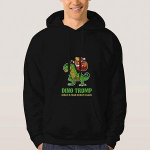 Dino-Trump-Christmast-Hoodie