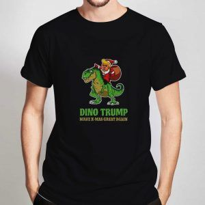 Dino-Trump-Christmast-T-Shirt