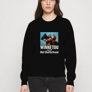 Winnetou-And-Old-Shatterhand-Black-Sweatshirt